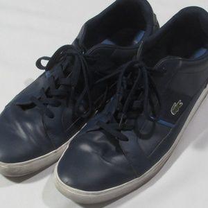 Lacoste Shoes Mens Size 15 Blue